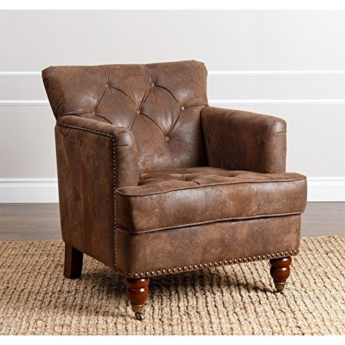Pleasing Distressed Leather Chair Amazon Com Camellatalisay Diy Chair Ideas Camellatalisaycom