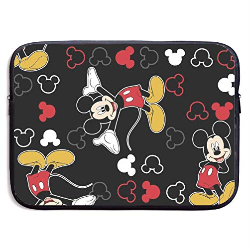 Meirdre Water-Resistant Laptop Bags Mickey Mouse Black Ultrabook Briefcase Sleeve Case Bags