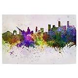 artboxONE Poster 30x20 cm Städte Caracas Skyline in