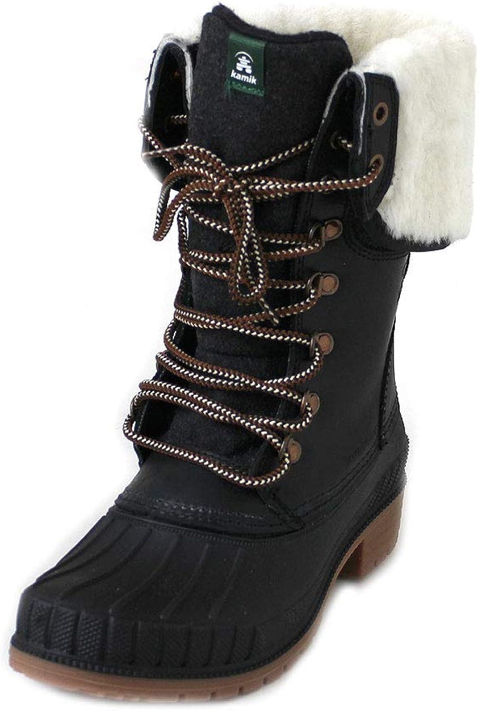 Kamik SiennaF2 damen schwarz, schwarz, schwarz, Größe 37 d29