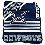 logobrands Dallas Cowboys 50'' x 60'' Plush Raschel Throw