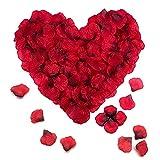 Pétalos de rosa, 1000 pétalos de flores falsas Pétalos de