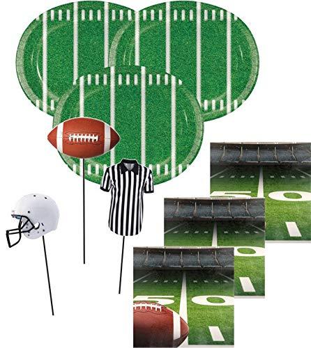 27 Teile American Football Superbowl Party Deko Set 8 Personen