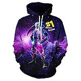 Youth 2021 Gamer Hoodie 3D Print Pullover Hooded Sweatshirts for Boys/Girls/Teen/Kid's