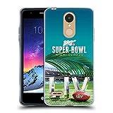 Head Case Designs Oficial NFL Estadio Hard Rock Miami 2020 Super Bowl Liv Carcasa de Gel de Silicona Compatible con LG K8 / K9 (2018)