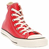 SCARPA CONVERSE LIMITED EDITION ALL STAR HI CANVAS MAROON SMOKE IN MIS 37