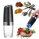 Molinillo de Sal eléctrico Molinillo de Pimienta eléctrico y Sal Premium con...