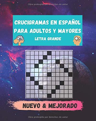 crucigramas en español para adultos y mayores letra grande: teverga y variados