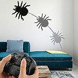Pawaca Araignée à télécommande réaliste, Escalade Murale, Jouet d'araignée,...