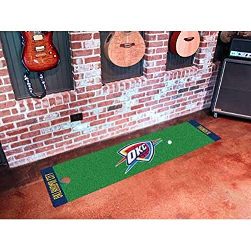 Sports Licensing Solutions, LLC NBA - Oklahoma City Thunder Putting Green Runner 18'x72'