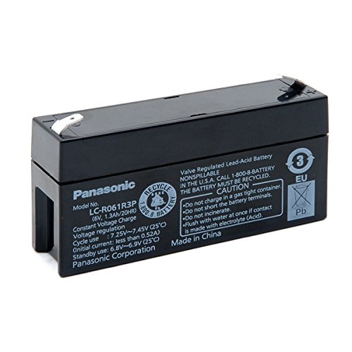 Panasonic - Akku AGM PANASONIC LC-R061R3P 6V 1.3Ah F4.8