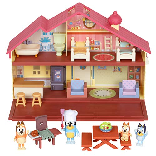 Bluey Mega Bundle Home, BBQ Playset, and 4 Figures | Amazon Exclusive