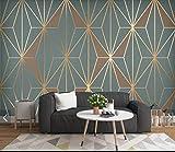SFALHX Papel Tapiz Sala De Estar Dormitorio Mural Figuras geométricas modernas...