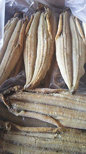 中国産 冷凍 有頭 うなぎ 白焼き 鰻 約167g×3尾
