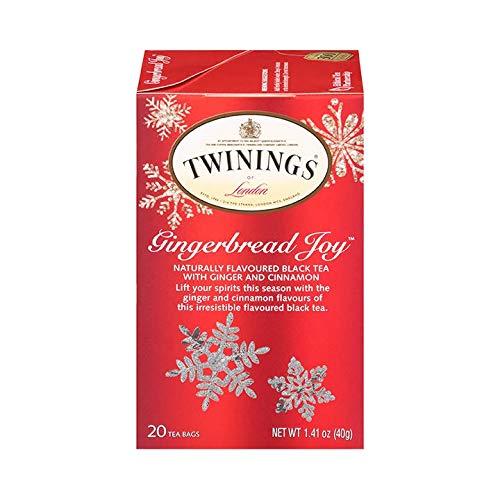 Twinings Gingerbread Joy Holiday Tea 20 Count (1.41 oz) 40g