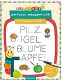 Lernraupe - Ruckzuck weggewischt! Erste Buchstaben - Angela Wiesner