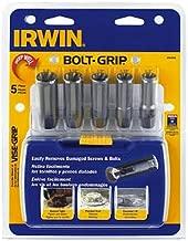 IRWIN Tools BOLT-GRIP Deep Well Bolt Extractor Set, 5-Piece (3094001)