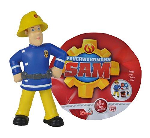Simba 109251025 - Feuerwehrmann Sam Sammelfiguren Serie I / 12-fach Sortierung / 5-7cm
