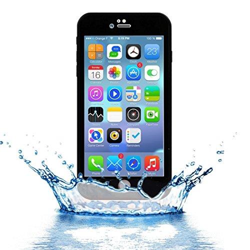 FATEGGS Accesorios para teléfonos móviles para iPhone 7 Plus Patrón de Diamante Tridimensional Vida TPU + PC Funda Casos Cubre (Color : Black)