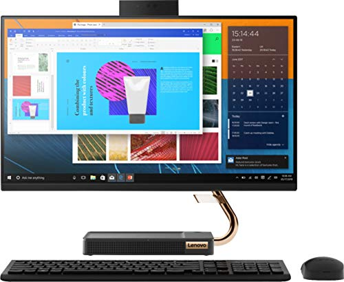 Lenovo A540-24 AIO - 23.8' FHD Touch - AMD Ryzen 3 3200GE - Vega 8-8GB - 256GB SSD - Black