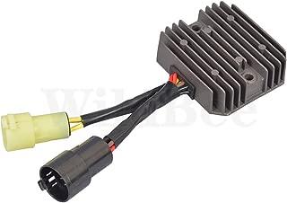 WildBee Rectifier Regulator Voltage Regulators for Kawasaki KVF300 KVF 300 Prairie 1999-2002, KVF400 KVF 400 D Prairie 1999-2002