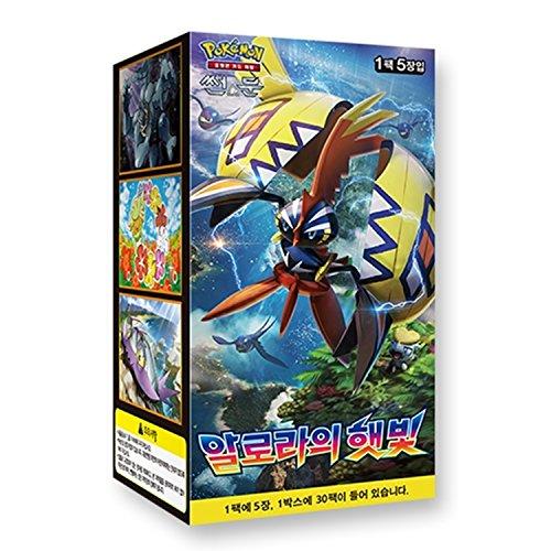 Pok/émon Cartes Sun /& Moon Booster Pack Cor/ée TCG 3pcs Premium Card Sleeve Tag Bolt
