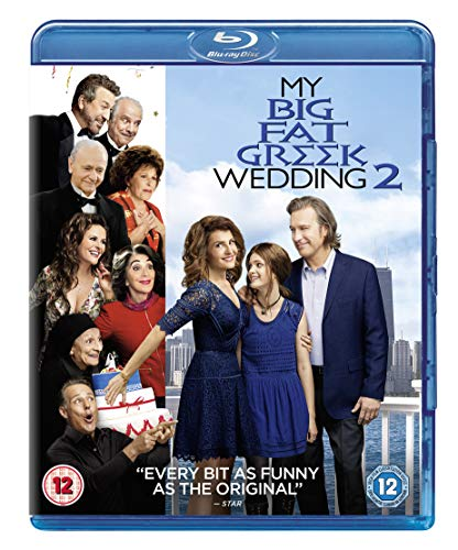 My Big Fat Greek Wedding 2 [Blu-ray] [2016] UK-Import, Sprache-Deutsch, Englisch...