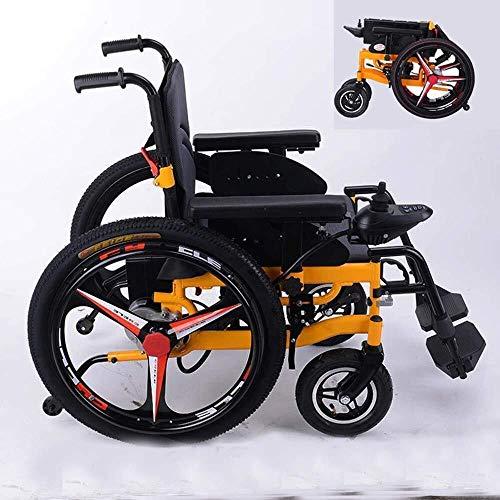 Drive rolstoelen Elektrische rolstoelen Folding Lightweight Small Ouderen met een lichamelijke intelligente automatische vierwielig Scooter lithium batterij kan in het vliegtuig
