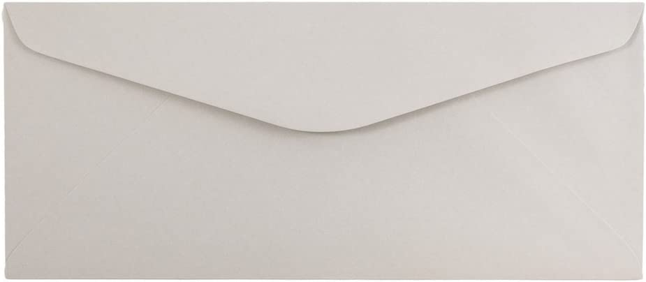 JAM PAPER #14 Recycled Envelopes Charlotte Mall - 5 Kraft 2 1 Outlet ☆ Free Shipping Grey 11 Recyc x
