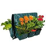 TeFuAnAn プランター フェルト 植物栽培バッグ 6ポケット 壁掛け式 植栽バック 布プランター 不織布 鉢 栽培 通気性 園芸用 ガーデン 庭 植え袋