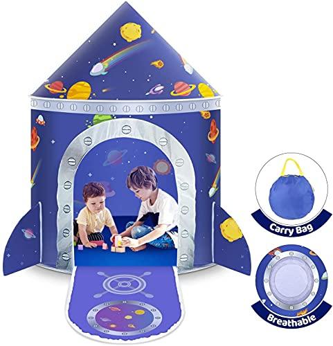 Tenda da Gioco, Tenda del Castello Tenda per Bambini Outdoor Gioco e Play Tent per Ragazze e Bambini, Casetta dei Giochi per Interni ed Esterni, con Borsa da Trasporto, Regalo per Bambini
