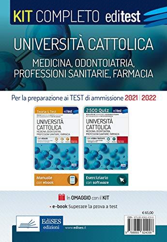 Università Cattolica - Test ammissione Medicina, Odontoiatria, Professioni sanitarie e Farmacia: Kit completo. Con e-book, simulatore e video-lezioni in omaggio
