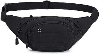 DAITET Fanny Pack for Men, Women, Kids, Waist Bag Adjustable Belt, Waterproof Travel Bag, Running Bag