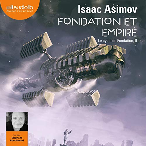 Fondation et Empire audiobook cover art