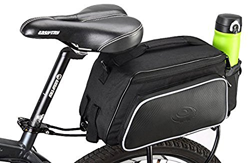 Cheap COTEetCI Bike Rack Trunk Bag Bicycle Saddle Bag Mountain Bike Panniers Bags Bike Bags Rear Rac...
