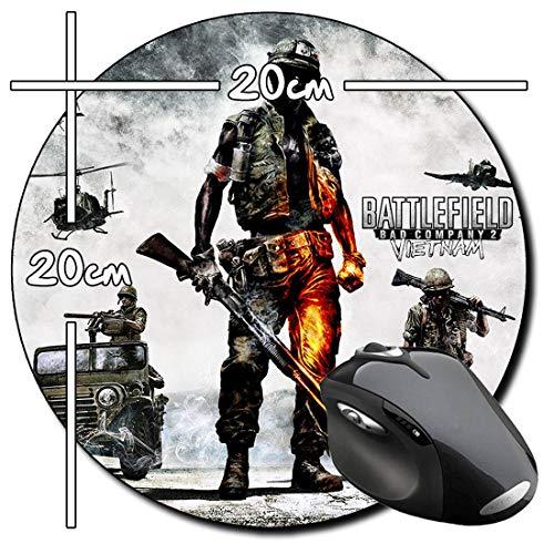 Battlefield Bad Company 2 Vietnam Rund Mauspad Round Mousepad PC