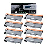 TonerPlusUSA Compatible Toner Cartridge Replacement for Brother TN630 TN660 TN-660 High Yield for use in Brother HL-L2300D, HL-L2320D, HL-L2360DW, MFC-L2700DW, MFC-L2707DW, DCP-L2520DW [Black, 8 Pack]