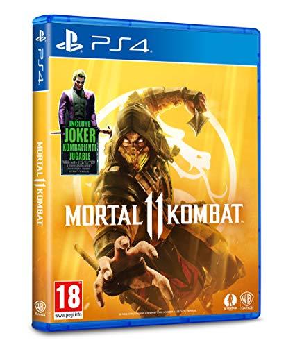 Mortal Kombat 11 - Edición Estándar (Incluye DLC Joker) (PS4)