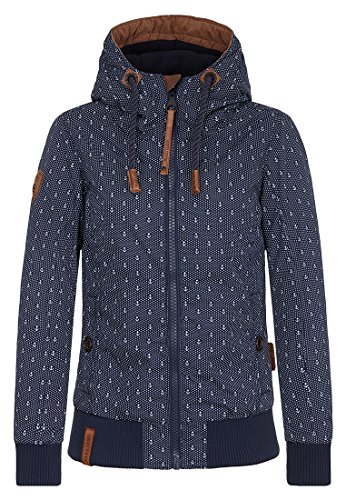 Naketano Damen Jacke Sportive Muschi Jacket, anchor i, S