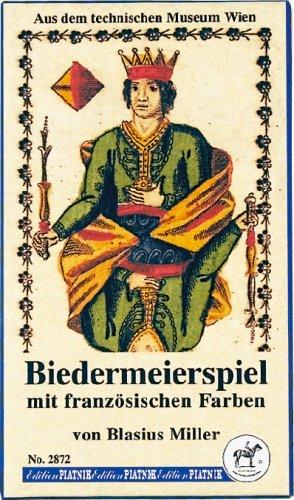 Piatnik 2872 - Biedermeierspiel mit französischen Farben