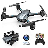 SNAPTAIN A15H Drohne mit Kamera HD 720P Faltbare Drohne FPV WLAN 120° Weitwinkel