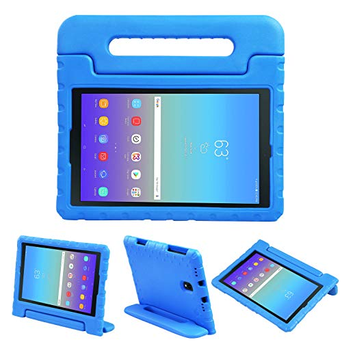 NEWSTYLE Kids Case for Galaxy Tab A 10.5 2018 Model SM-T590/T595/T597, Light Weight Shockproof Handle Stand Kids Friendly Case Cover for Samsung Galaxy Tab A 10.5-inch 2018 Released Tablet (Bule)