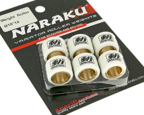 Naraku HD Heavy Duty - Pesos Variables (18 x 14 mm, 11,80 g)