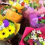 デザイナー おまかせ花束 おまかせ花色で作成セミオーダーで1番輝いている生花でプチブーケ (ミニブーケ) ミニ花束 ピアノ バレエの発表会 お祝い 卒業式 卒園式 ギフト お誕生日 プレゼントなどに