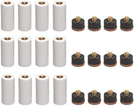 Generic Lot de 10 Embouts rigides pour Queue de Billard 10//11//12//13 mm