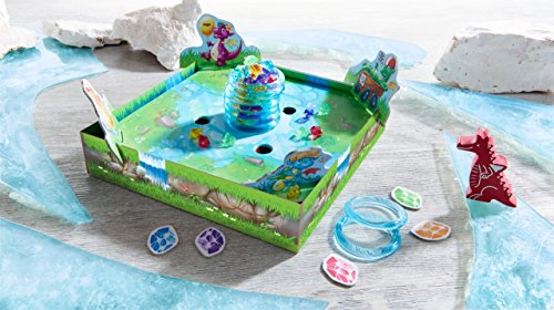 Image of HABA Dragon's Breath - 2018 Kinderspiel des Jahres (Children's Game of The Year) Winner - an Exciting Collecting Game for 2-4 Players Ages 5+