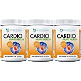 Cardio Heart Health-L-Arginine Powder Supplement-5000mg Plus 1000mg L-Citrulline-with Minerals, and Antioxidants Vitamin C & E-Total Cardiovascular System Health (Pack of 3)
