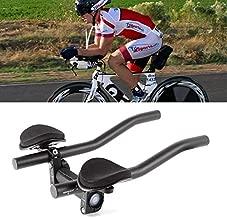 Tengma Bicycle Armrest Handlebars, Cycling Bike Rest Handlebar, for Mountain Bike Or Road Bike Aero Bars Bicycle, Aluminium Alloy Arm, Triathlon Tri Relaxlation Handlebars