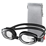 8. ZIONOR Upgrade G8 Swim Goggles for Men/Women, UV Protection Anti-Fog Leak-proof Swimming Goggles with Adjustable Strap Wide Vision, Comfortable and Fashionable for Adult and Youth