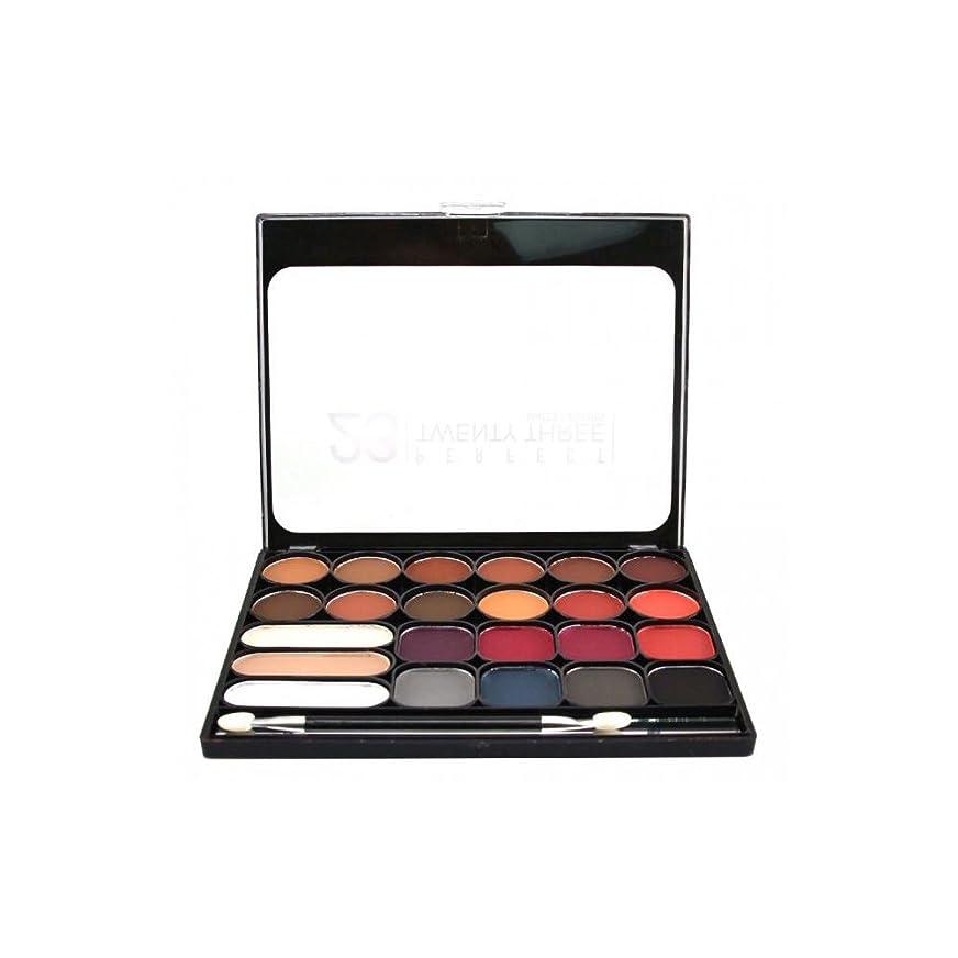 突然の子犬希少性NICKA K Perfect Twenty-Three Colors (Matte) Eyeshadow Palette 02 (AP9B) (並行輸入品)